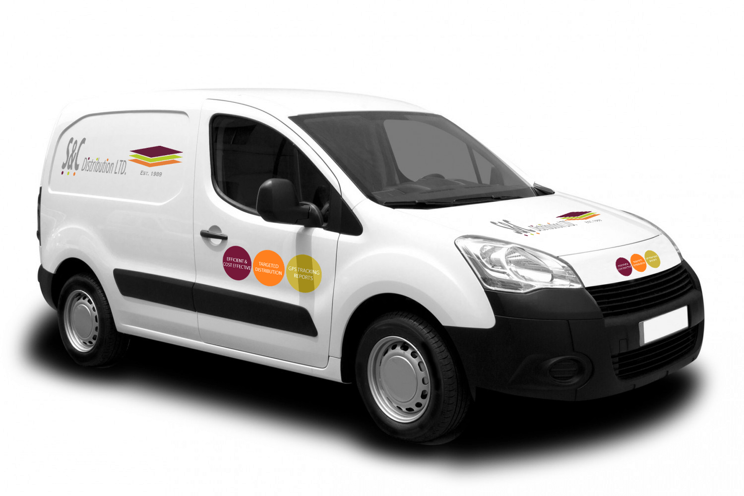 S & C Distribution Delivery Van